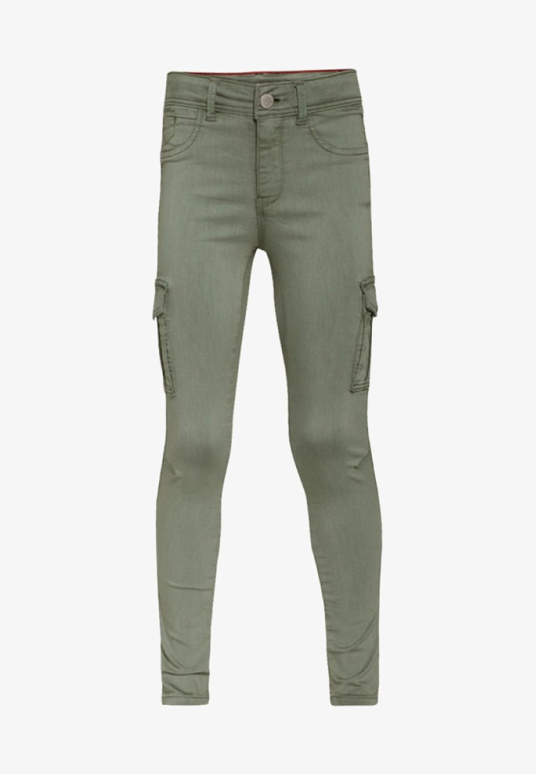 WE Fashion - Jeans Skinny Fit - army green