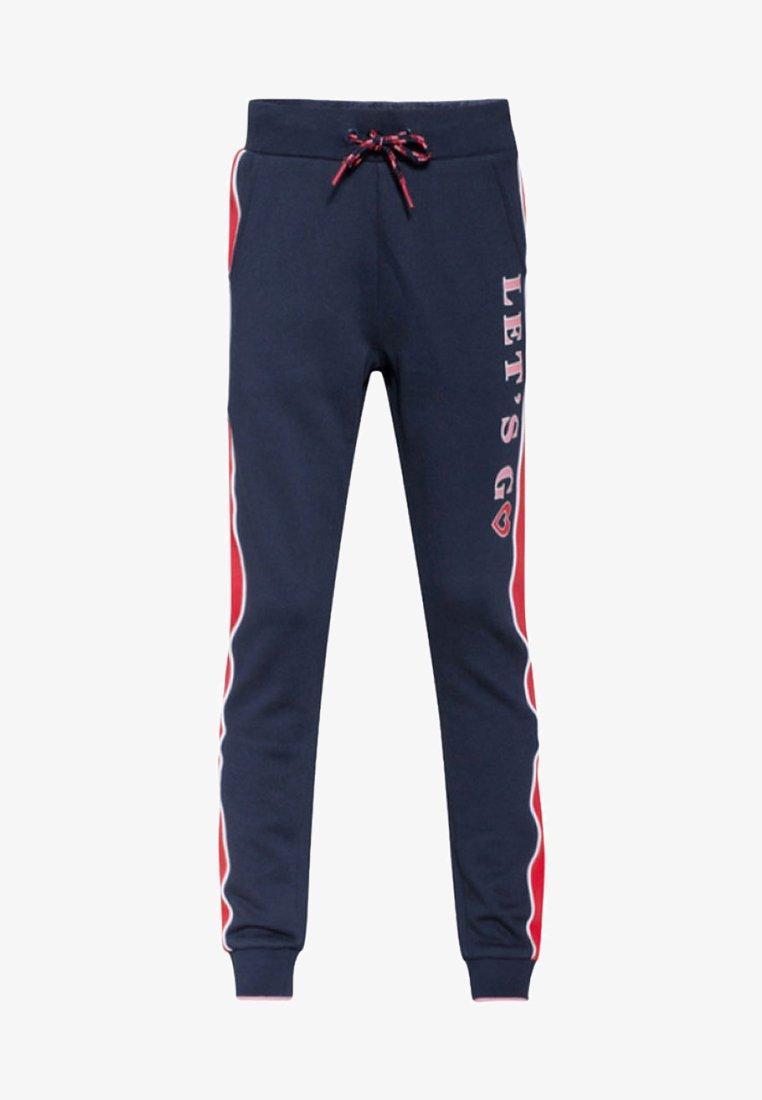 WE Fashion - REGULAR FIT - Jogginghose - dark blue