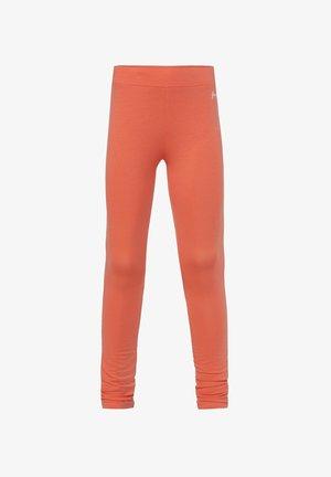 WE FASHION MEISJES SKINNY FIT LEGGING - Leggings - Trousers - coral pink