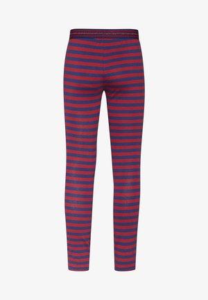 WE FASHION MEISJES STREEP DESSIN LEGGING - Leggings - Trousers - vintage red