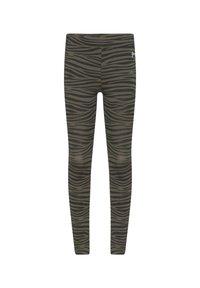 WE Fashion - WE FASHION MEISJES LEGGING, 2 PACK - Leggings - Trousers - army green - 2