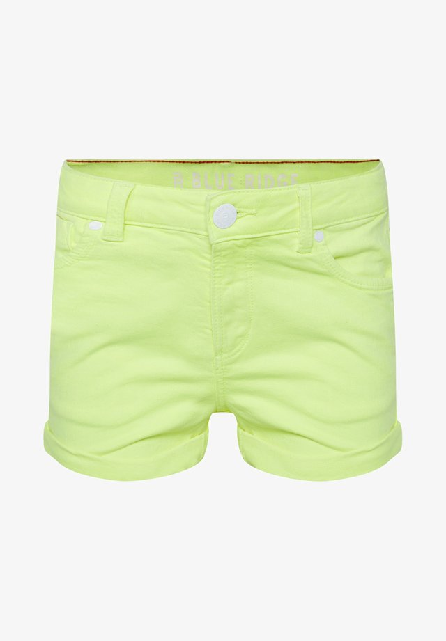 Jeans Shorts - bright yellow