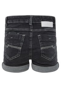 WE Fashion - Jeansshort - black - 1