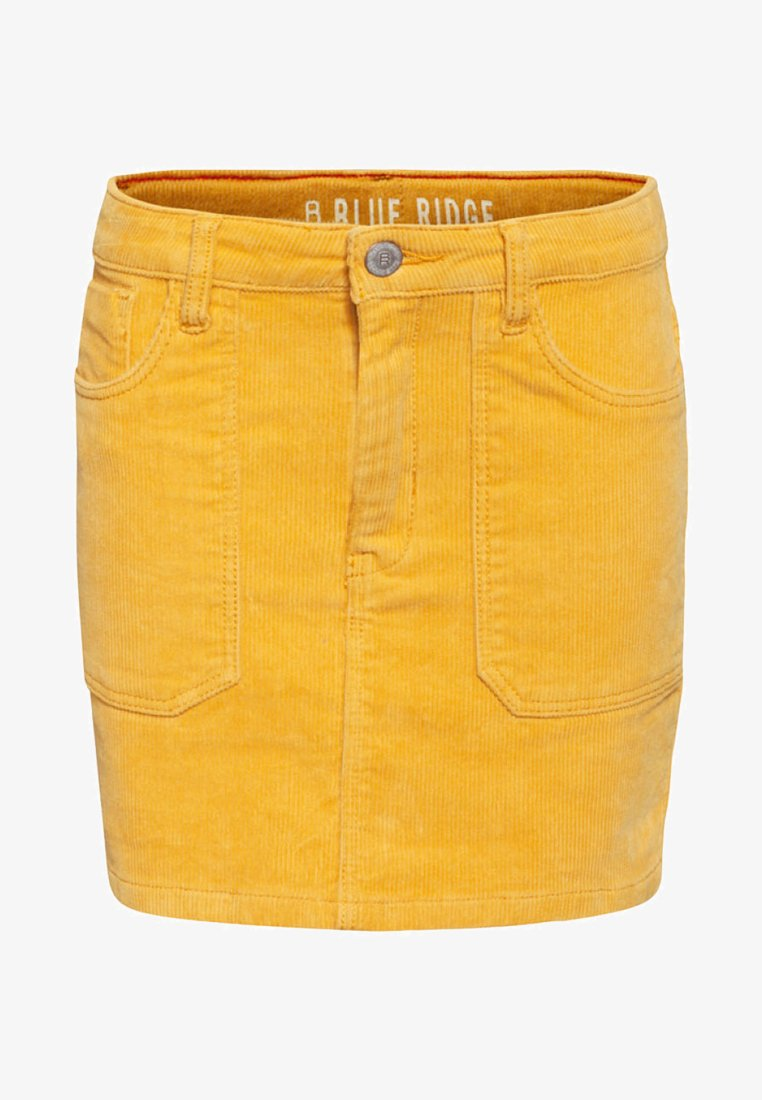 WE Fashion - Minirock - ochre yellow