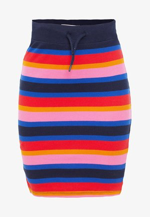 Pencil skirt - multi-coloured
