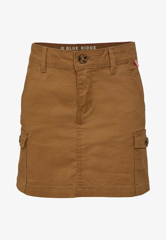 Jeansrock - brown