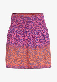 WE Fashion - MIT RÜSCHE - A-line skirt - pink - 0