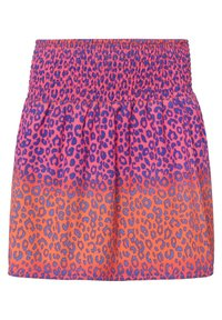 WE Fashion - MIT RÜSCHE - A-line skirt - pink - 1