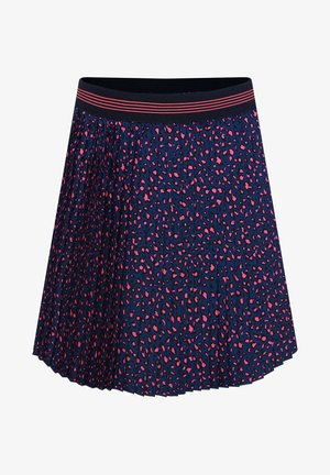 MIT MUSTER - Pleated skirt - blue