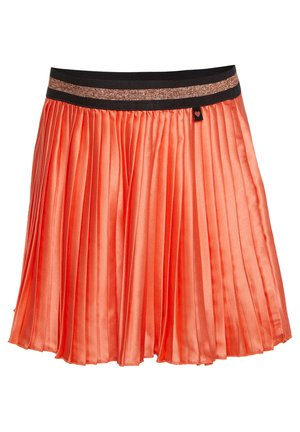 WE FASHION MÄDCHEN-FALTENROCK - A-line skirt - coral pink