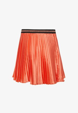 WE FASHION MÄDCHEN-FALTENROCK - A-line skirt - coral pink
