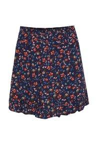 WE Fashion - MET DESSIN - A-line skirt - dark blue - 0