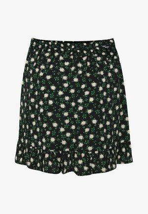 MET DESSIN - A-snit nederdel/ A-formede nederdele - black, green, white