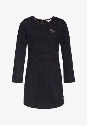 MEISJES STRUCTUUR JURK - Korte jurk - black