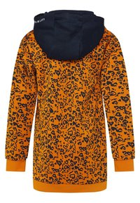 WE Fashion - MET CAPUCHON - Korte jurk - orange - 1