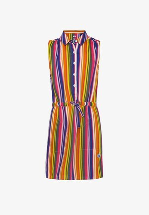 WE FASHION MEISJES MOUWLOZE JURK - Shirt dress - multi-coloured