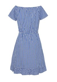 WE Fashion - WE FASHION MEISJES GERUITE JURK - Day dress - blue - 1