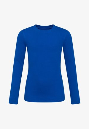 Long sleeved top - cobalt blue