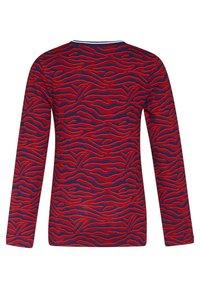 WE Fashion - ZEBRA DESSIN - T-shirt à manches longues - vintage red - 1