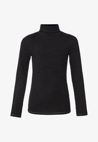 WE Fashion - T-shirt à manches longues - black - 0