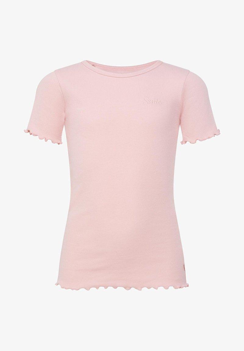 WE Fashion - T-shirts basic - light pink