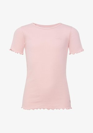 T-shirt print - light pink