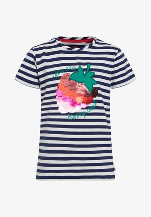 T-shirt con stampa - blue