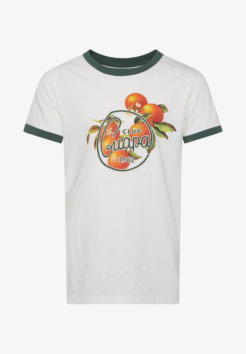 WE Fashion - MIT AUFDRUCK - T-shirt imprimé - light grey