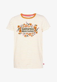 WE Fashion - T-shirt con stampa - orange - 2