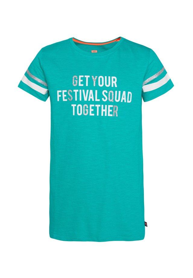 MET TEKSTOPDRUK - T-Shirt print - green