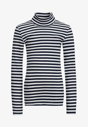 MEISJES ROLNEK T-SHIRT MET GESTREEPTDESSIN - Langærmede T-shirts - dark blue