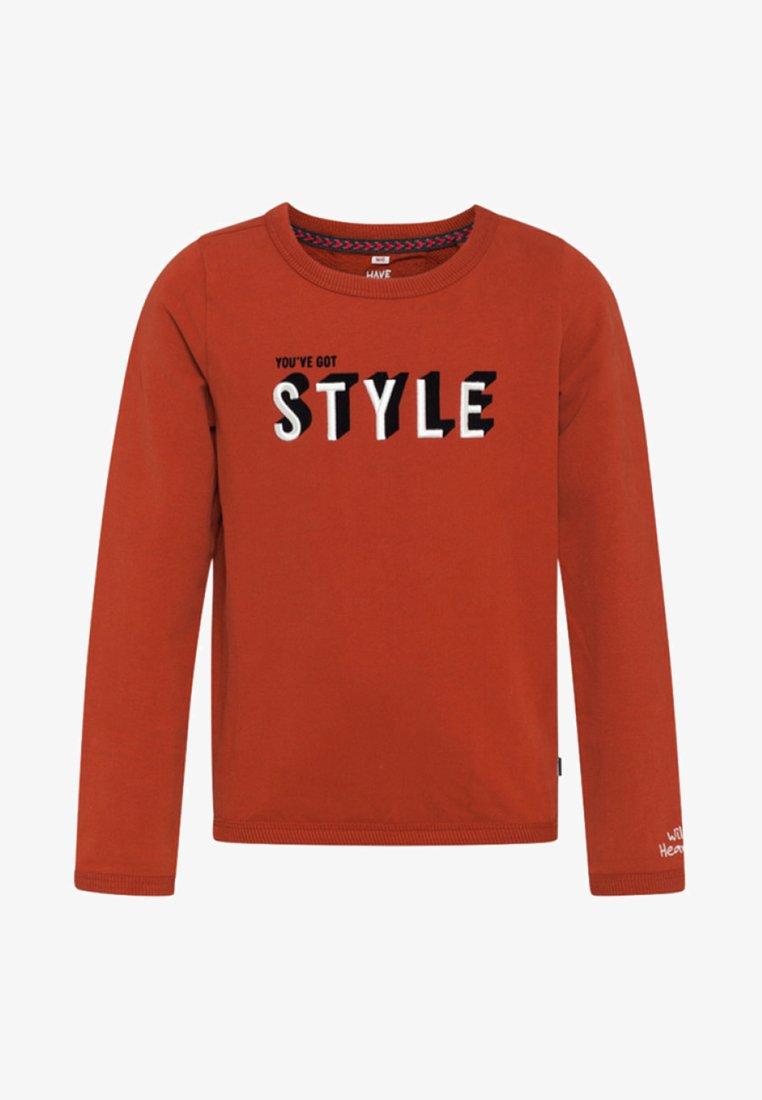 WE Fashion - Sweatshirt - rust brown