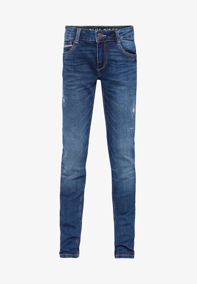 WE Fashion - Jeans Skinny Fit - navy blue
