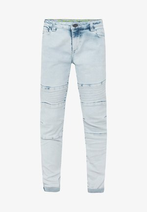 MET BIKERDETAILS - Slim fit jeans - light blue