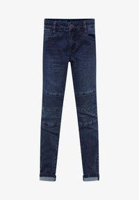 WE Fashion - Jeans Skinny Fit - dark blue - 0