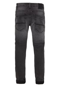 WE Fashion - Vaqueros pitillo - dark grey - 1