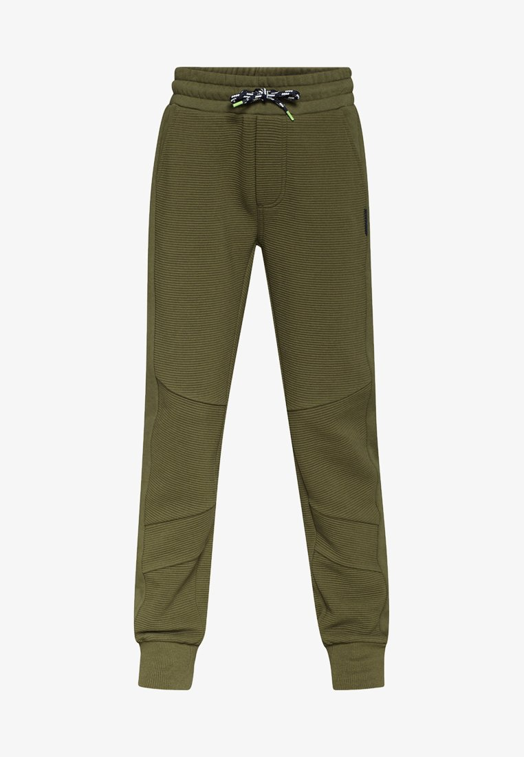 WE Fashion - Tracksuit bottoms - army green