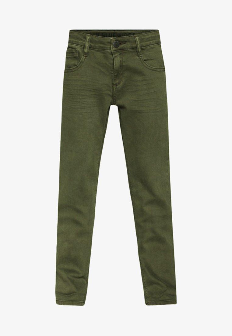 WE Fashion - Straight leg jeans - green