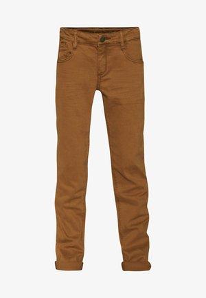 Straight leg -farkut - rust brown