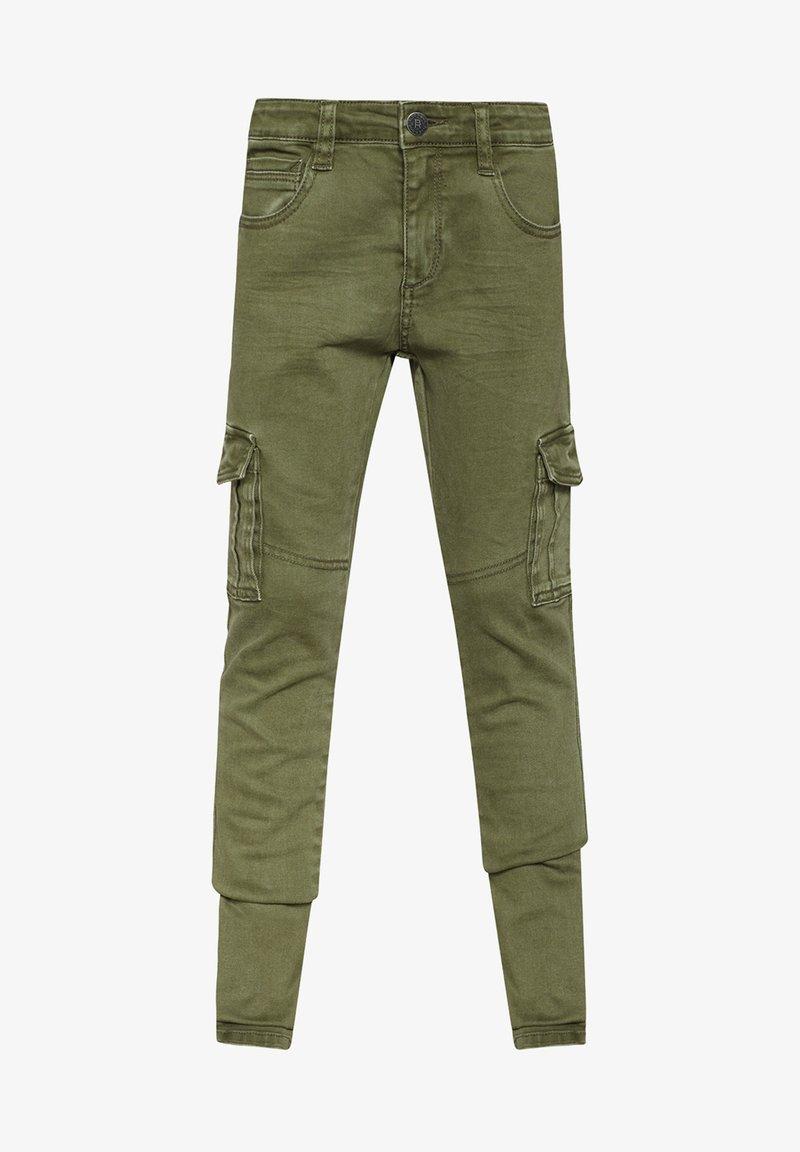 WE Fashion - Reisitaskuhousut - army green