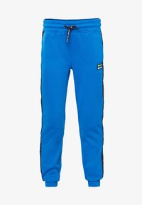 WE Fashion - MET TAPEDETAIL - Pantalones deportivos - bright blue - 0