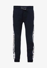 WE Fashion - MET TAPEDETAIL - Tracksuit bottoms - blue - 0