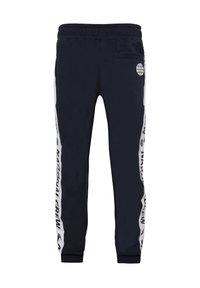 WE Fashion - MET TAPEDETAIL - Tracksuit bottoms - blue - 1