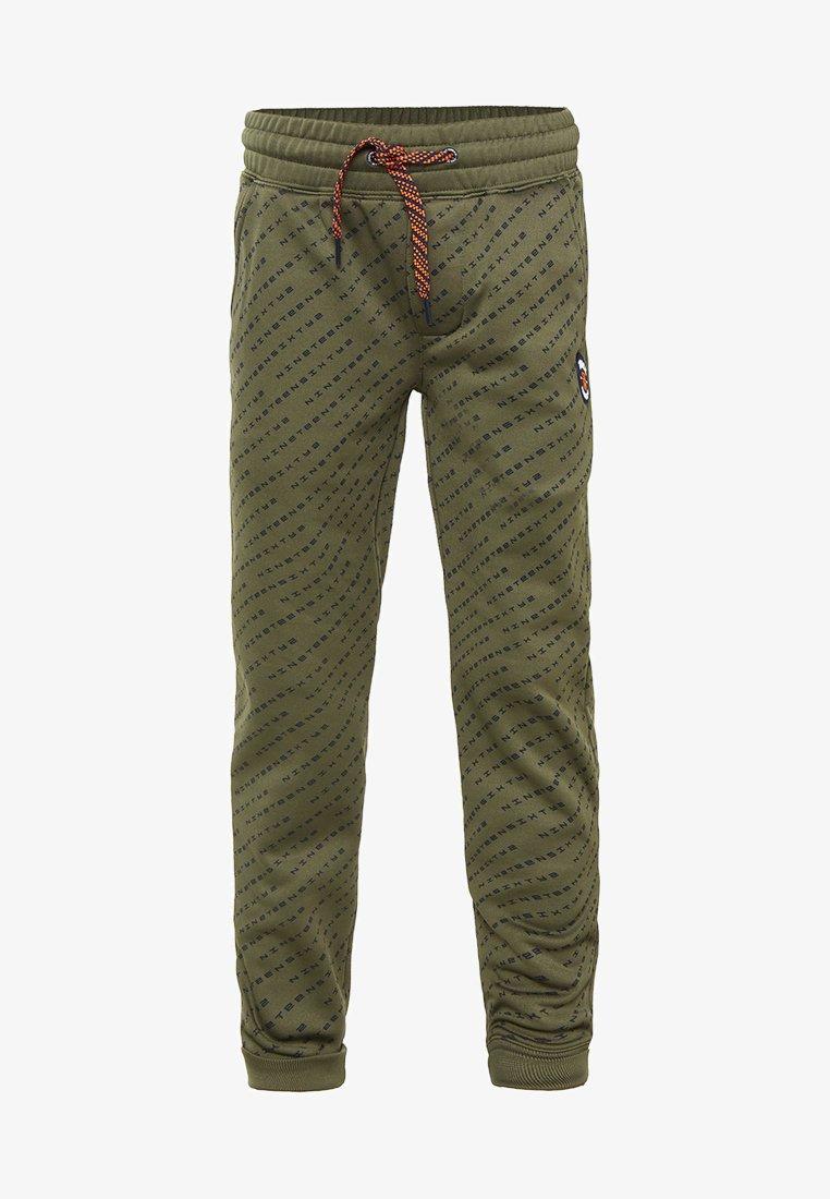 WE Fashion - Pantalones deportivos - green