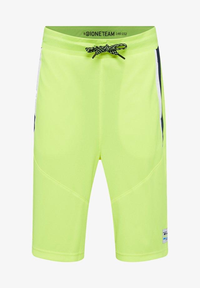 Shorts - bright yellow