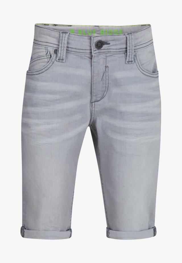 Jeansshort - light grey