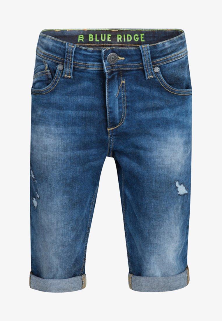 WE Fashion - Denim shorts - dark blue