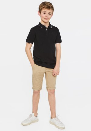 WE FASHION JUNGEN-SLIM-FIT-CHINOSHORTS - Shorts - beige