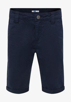 WE FASHION JUNGEN-SLIM-FIT-CHINOSHORTS - Shorts - dark blue