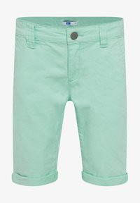 WE Fashion - WE FASHION JUNGEN-SLIM-FIT-CHINOSHORTS - Shorts - green - 0